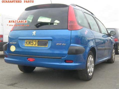 Spare Part Peugeot 206 peugeot 206 sw breakers peugeot 206 sw spare car parts