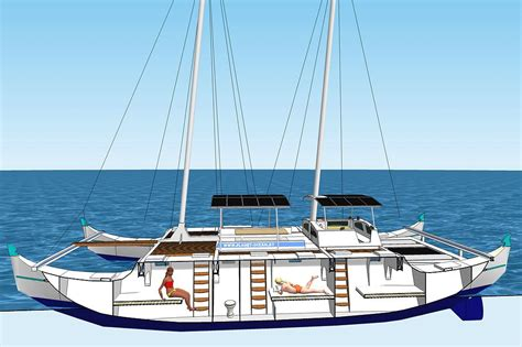 wharram catamaran charter planet ocean segelkatamaran pakia tea segeln