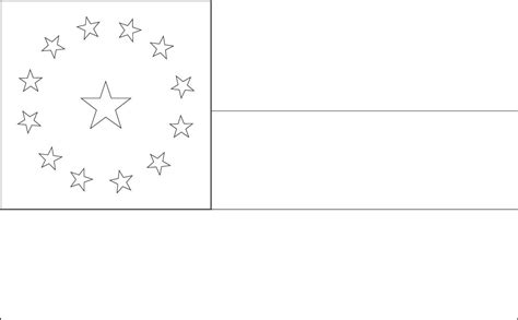 flag coloring pages comoros islands flag coloring pages