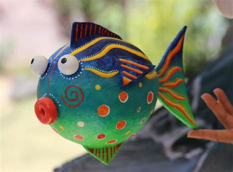 How To Make Paper Mache Fish - 337 best images about just papier mache nothing else on