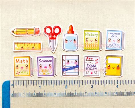 Aufkleber Schule by School Planner Stickers Back To School Sticker Pack