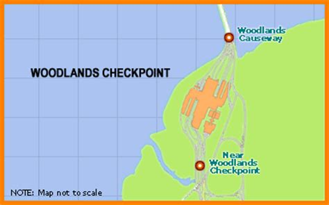 one motoring singapore traffic traffic info woodlands checkpoint traffic info