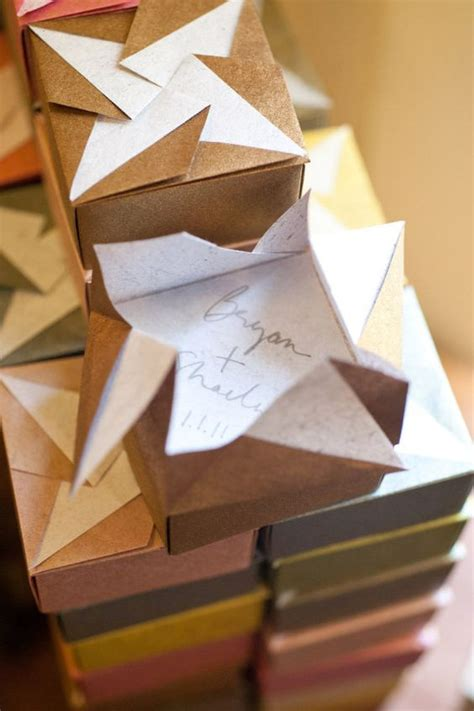 Origami Favor Box - favor boxes favors and origami on