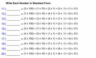 math worksheets for 5th grade 5th grade online math