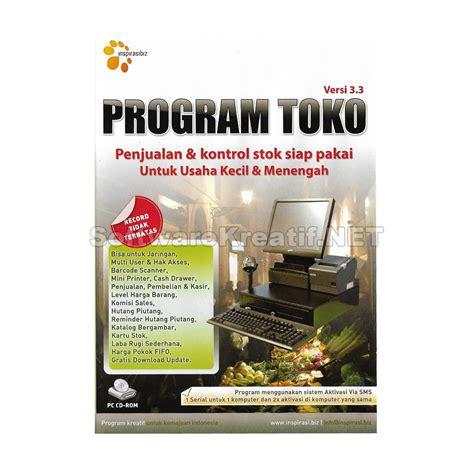 Program Toko Ipos 3 3 Original program toko ipos 3 3 program penjualan dan stok barang