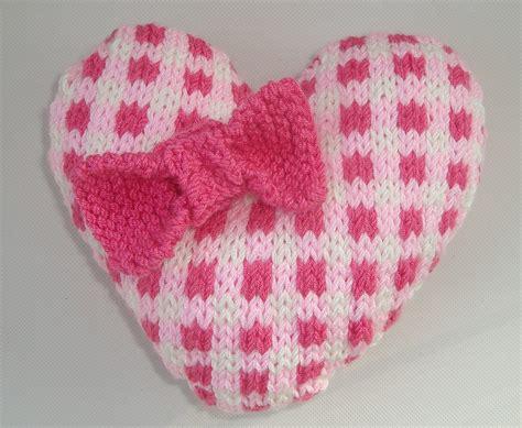 heart pattern in knitting heart knitting pattern a knitting blog