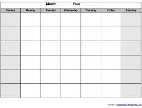 Calendar Types Printable Calendars By Month You Can Type In 2017