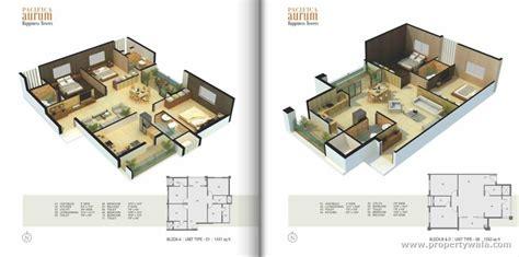 Drawing Floorplans pacifica aurum padur chennai residential project