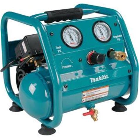 makita 1 gal 125 psi portable electric compact air compressor ac001 the home depot