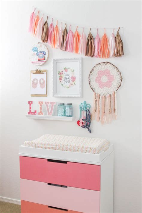 Coral Nursery Decor The 25 Best Coral Nursery Decor Ideas On Pinterest Coral Nursery Nursery Wall Decor And Baby