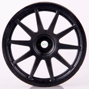 4pcs Black 1 9 Wheel Rims For Hsp Hpi Racing 1 10 Rc Model 4wd Car 60 4pcs 1 10 rc model car parts wheels rims diameter 52mm black 10 spoke hsp 910b ebay