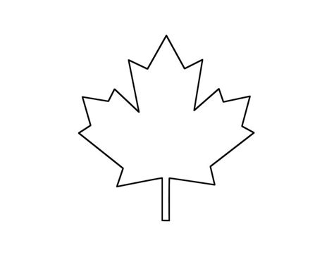 12 Best Images About Canada On Pinterest Canada Crafts Canada Flag Template