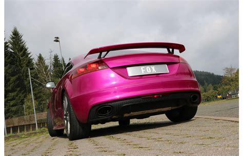 Audi Tt 8j Sportauspuff by Fox Duplex Sportauspuff Audi Tt 8j Rs Bj 2009 2014 Mit