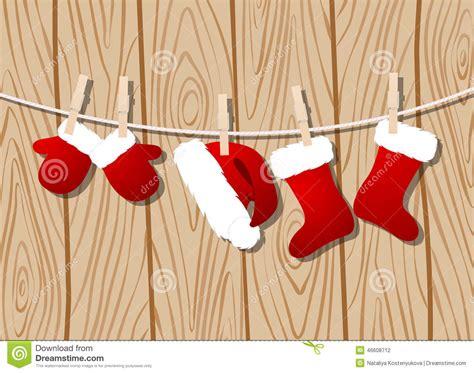 Imagenes Ropa De Santa Claus | ropa de santa claus stock de ilustraci 243 n imagen 46608712