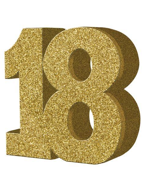 articoli x decorare decorazione color oro da tavola 18 anni 20x20 cm su