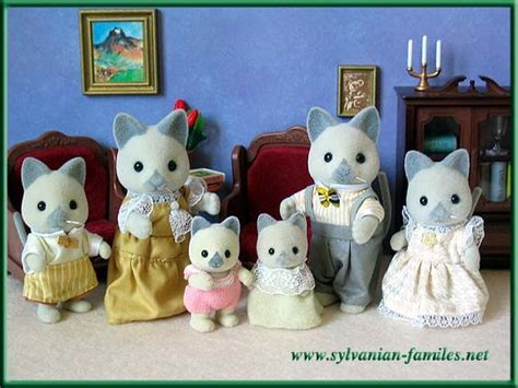 Sylfanian Families Collect Them All Series 5198 248 best images about calico critters on toys owl family and mice