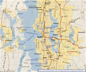 Seattle City Map by Seattle City Quotes Quotesgram