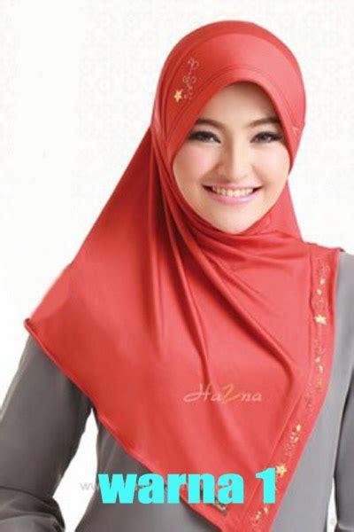 Black Syarii Bergo koleksi jilbab zahra pusat jilbab model terbaru jual aneka