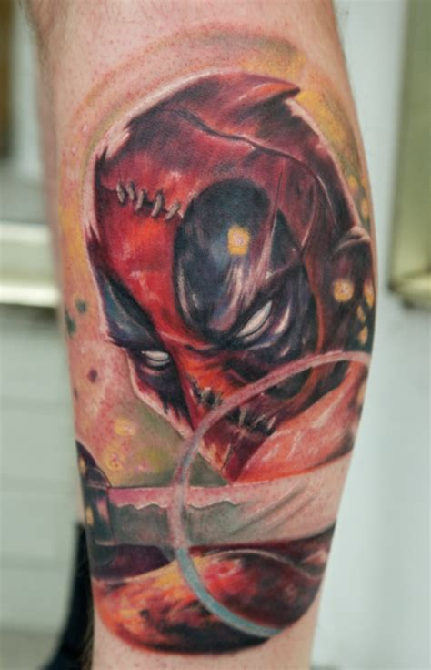 deadpool tattoo deadpool by graynd on deviantart