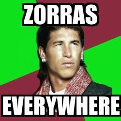 Xx Everywhere Meme Generator - meme sergio ramos zorras everywhere 844881