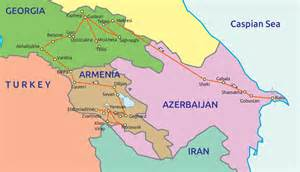 map of armenia and azerbaijan geopolitical acupressure the great middle east