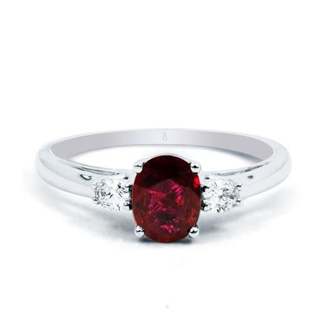 burmese ruby engagement ring boutique - Ruby Engagement Rings