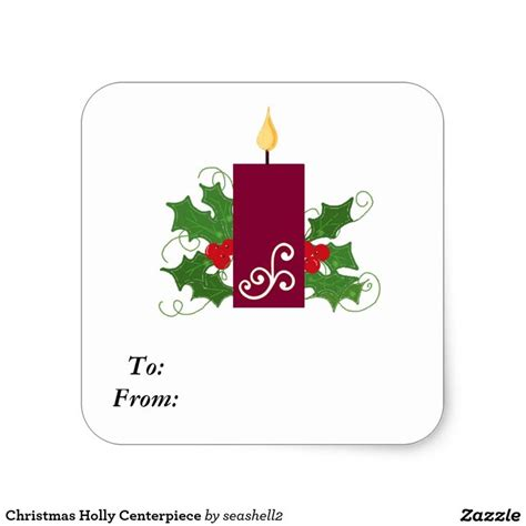 45 best christmas gift tag stickers images on pinterest