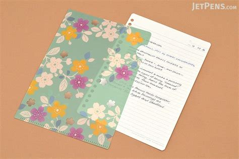 japanese pattern folders kurochiku japanese pattern clear folder a5 sakura