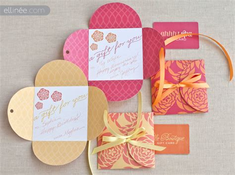 diy gift card templates merry brides diy petal gift cards free printable