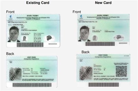 Work Permit After Mba In Singapore by Singapore Introducing New Work Pass Card With Qr Code