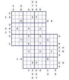 printable outside sudoku jigsaw sudoku in flower sudoku format 5 in 1 gattai 5