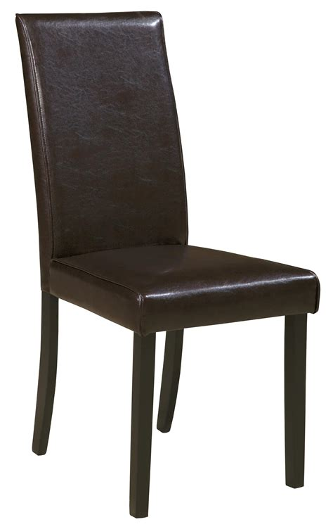 Upholstered Dining Side Chairs Signature Design By Kimonte Dining Upholstered Side Chair Brown Wayside Furniture