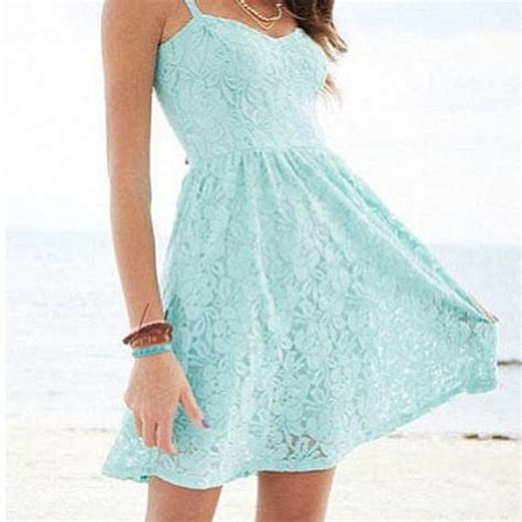 Light Blue Short Dress Light Blue Short Lace Dress Dresses Pinterest
