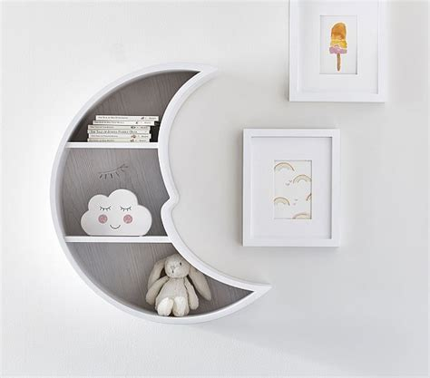 Pottery Barn Kids Decor Moon Shaped Shelf Pottery Barn Kids