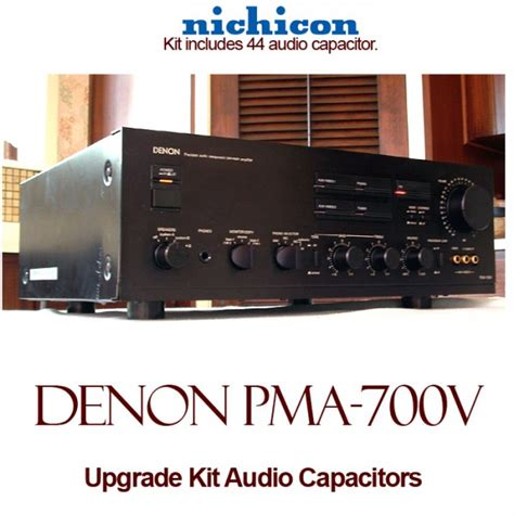 where are nichicon capacitors made denon pma 700v upgrade kit audio capacitors