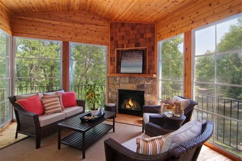 4 Season Porch Designs Four Season Porch Country Home Remodel Ideas