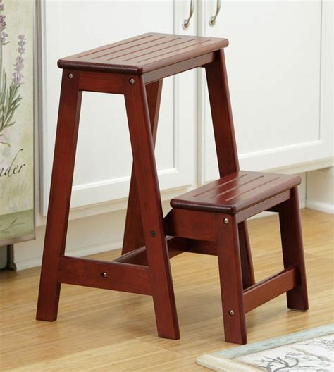 wooden step stools for the kitchen vintage kitchen step stool chair today cabinet hardware room