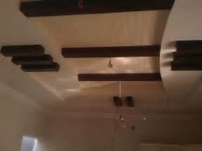 wooden false ceiling pop with wood ceiling design gharexpert