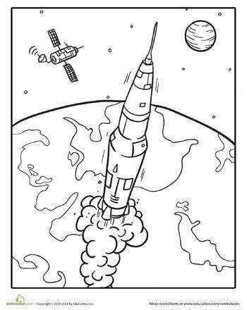 Saturn V Coloring Page by Saturn V Coloring Pages Murderthestout
