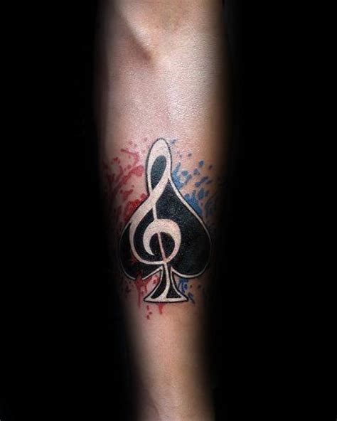 music note tattoo for men 75 note tattoos for auditory ink design ideas