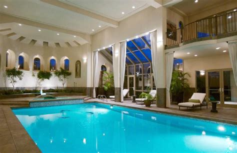homes with indoor pools beautiful indoor pool home theaters entertainment