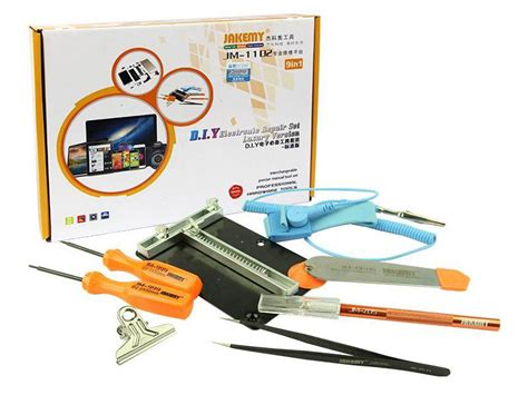 Set Obeng Screwdriver Electronic Repair Tool Kit 39in1 Jakemy Jm 8113 tools nationsearth
