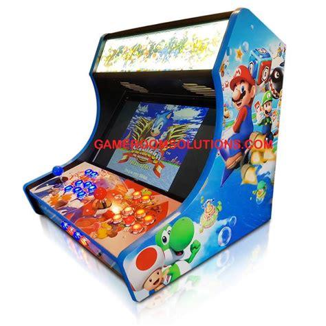 bartop arcade kit deluxe lock graphics kit