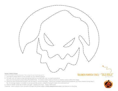 casey henson blog halloween pumpkin carving stencils