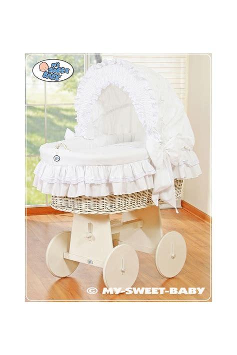 baby culla culla neonato vimini bellamy bianco
