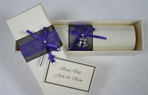 scroll wedding invitations in dubai personalised scrolls