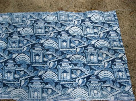 Blue White Upholstery Fabric by Pagoda Upholstery Fabric Drapery Blue And White