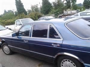 1986 Mercedes 420 Sel 1986 Mercedes 420 Sel Collector Cbell River Comox