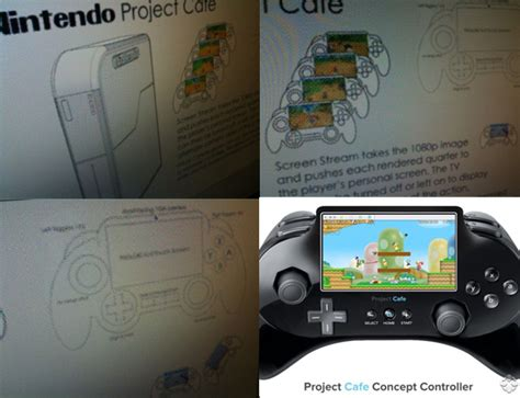 next nintendo console project cafe nintendo s new console leaked images
