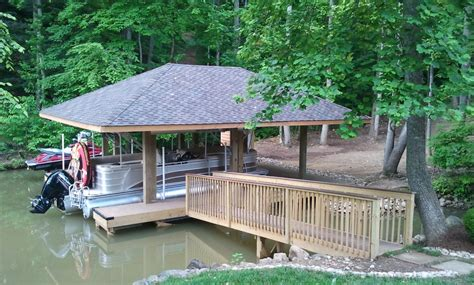 boat lift knoxville tn hip roof dock construction knoxville lenoir city fort